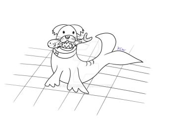 Seal dog by eulalia95