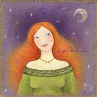 Lune Rousse by Neyrelle