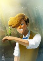 Newt Scamander by tropicalraccoon