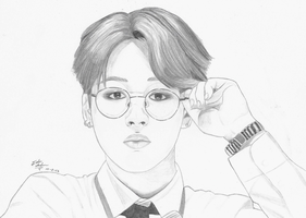 BTS Park Jimin Drawing by GwiyomiBaozi