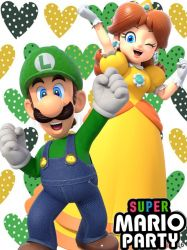 LUIGI AND DAISY - SUPER MARIO PARTY by GabyMarioFangirl
