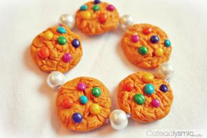 Candy Cookie Bracelet by Cateaclysmic