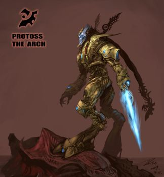 Protoss The Arch by Dio-Dong