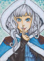 ACEO - Snowy by Vanillasauce04