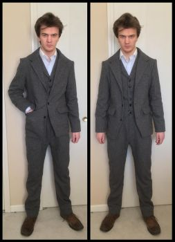 Peaky Blinders season 1 Tommy Shelby cosplay suit by TimeyWimey-007