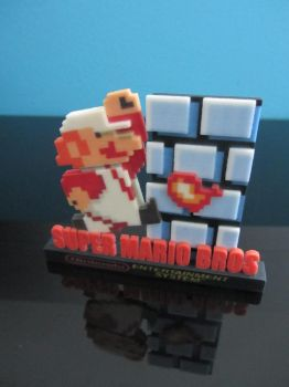The Black Box Nes 3d Super Mario Bros by darkhattori