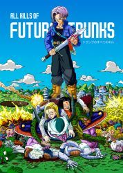 All kills of Future Trunks (full color) by albertocubatas
