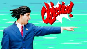 Phoenix Wright's Objection! by YamiSasha