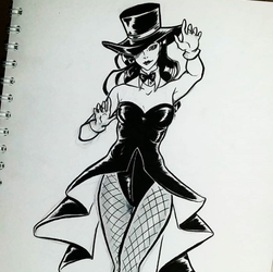 Zatanna by E4AlAbbasy