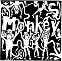 Maze of Monkeys for M by ink-blot-mazes