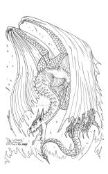 The Wyvern by RenDragonClaw