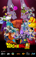 DragonBall Super Poster by SergioFrancZ