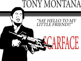Tony Montana by mortichro