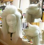 Malachite Wig Commission by theycriedwolf
