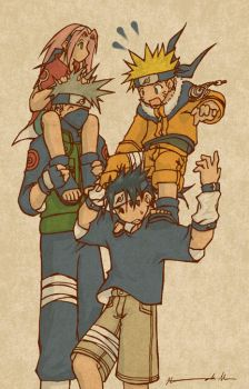 Team 7:To Rise Above Jounin by ahnline