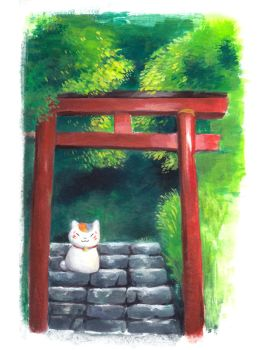 Torii by Dunicakes