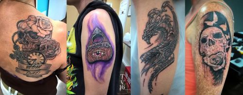 Various Apprenticeship Tattoos-WIP by Illusions-of-TV