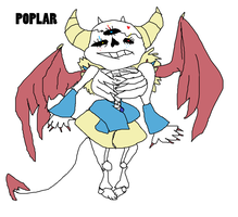 Undertale Adoptable: Poplar (Closed) by SonicLover1523