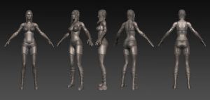 modeling test 2 semster by pixelchaot