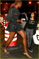 Venus Williams night out by lowerrider