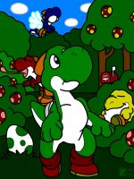 Yoshi Village by professorhazard