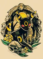Umbreon by RetkiKosmos