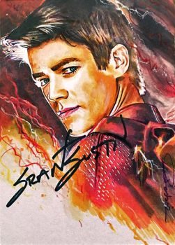 The Flash -autographed by DavidDeb