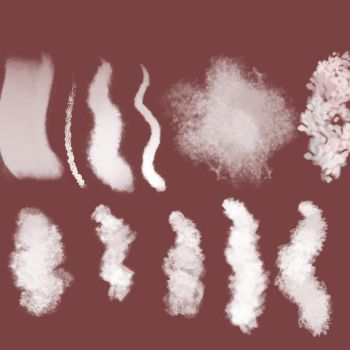 BRUSHES by PurpleMuffin