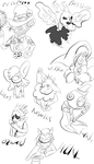 Casacade Cabaret Sketch Dump by Thesimpleartist4