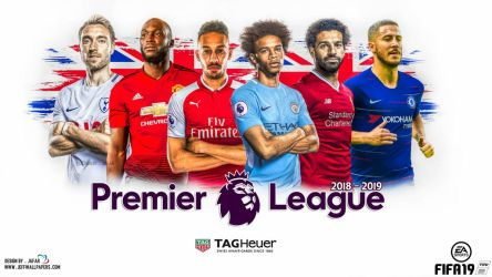 PREMIER LEAGUE 2018 - 2019 by jafarjeef