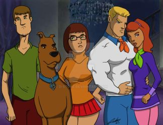 scooby and the gang by D-Stone