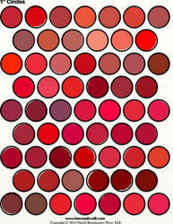 Red Palette Sheets by Writer-Colorer