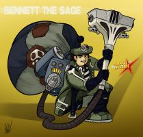 CAX - Bennett the Sage by AndrewDickman