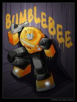 Bumblebee sneaking by WaywardInsecticon