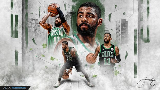 Kyrie Irving Green Blooded Killer Wallpaper by tmaclabi