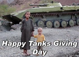 Happy Tanks Giving Day by MasterLudus
