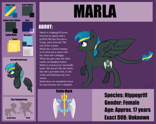 Marla Reference (I can't draw paws) by Ziricorn