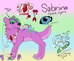 Sabrina Reference Updated 2018 by Albino-Umbreon