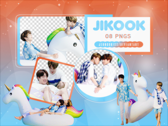 PNG Pack|Jikook - Summer Package (BTS) by jeongukiss