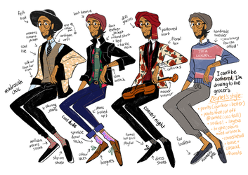 OC Fashion Guide: Zeynel by reimena