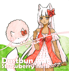 [Set price adoptable] Strawberry milk bun [OPEN] by tshuki