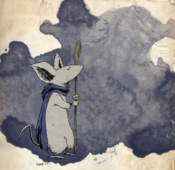 Kenzie of MOUSE GUARD by thecheckeredman