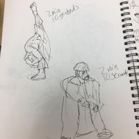 Another two min sketch by moonjumper4