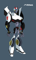 TFA Head of Tactical Division Prowl by LyricaBelachium