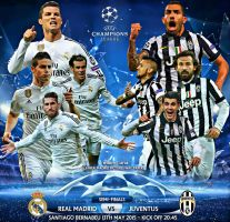REAL MADRID - JUVENTUS CHAMPIONS LEAGUE 2015 by jafarjeef