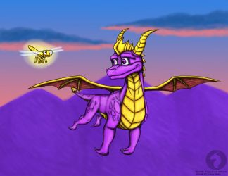 Spyro returns by BlueRavenfire