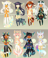 [SET PRICE - 20$] Spritetail adopts - CLOSED by rexcorvis