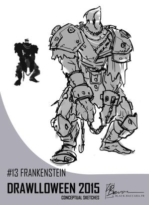DH13 frankenstein by laurabevon by LauraBevon