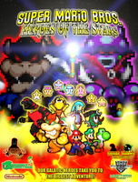 SMB Heroes of the Stars True Final Poster by HeiseiGoji91