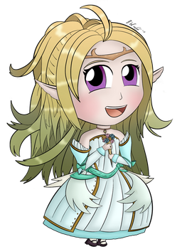 Commission: Chibi Bride Nowi by freqrexy